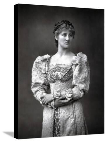 Mary Anderson (1859-194), American Stage Actress, Late 19th Century--Stretched Canvas Print