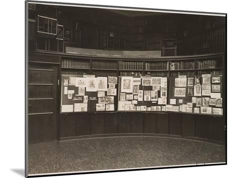 The Mnemosyne Atlas at the Reading Room of the Kunstwissenschaftliche Bibliothek Warburg, 1927-Aby Warburg-Mounted Giclee Print