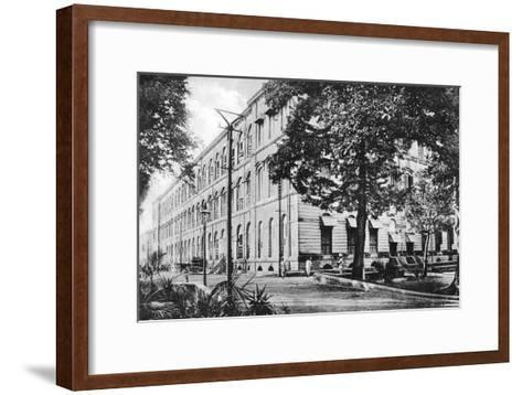 Queen's Barrack, Fort William, Calcutta, India, Early 20th Century--Framed Art Print