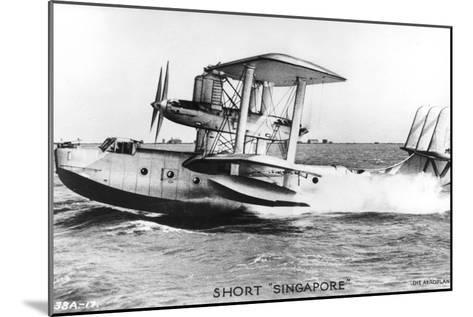 Short Singapore, C1930S--Mounted Giclee Print