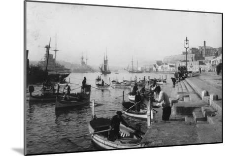 Grand Harbour, Malta, 1937--Mounted Giclee Print