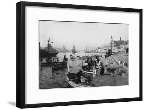 Grand Harbour, Malta, 1937--Framed Art Print
