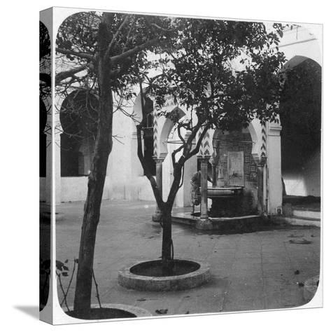 Mosque Fountain, Algiers, Algeria, Late 19th or Early 20th Century--Stretched Canvas Print