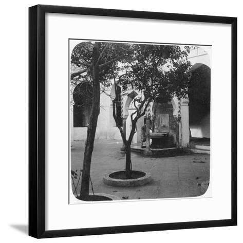 Mosque Fountain, Algiers, Algeria, Late 19th or Early 20th Century--Framed Art Print