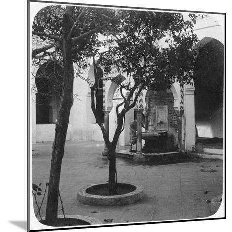 Mosque Fountain, Algiers, Algeria, Late 19th or Early 20th Century--Mounted Giclee Print