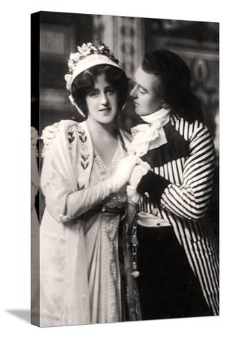 Robert Evett (1874-194) and Denise Orme (1885-196) in the Merveilleuses, Early 20th Century--Stretched Canvas Print
