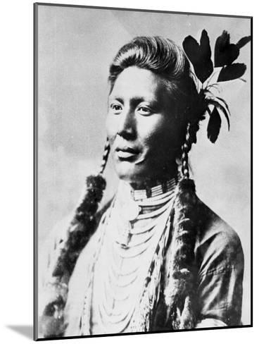 Yellow Dog, North American Indian, C1885-90--Mounted Giclee Print