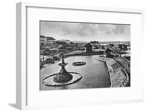 Children's Swimming Baths, Durban, South Africa--Framed Art Print