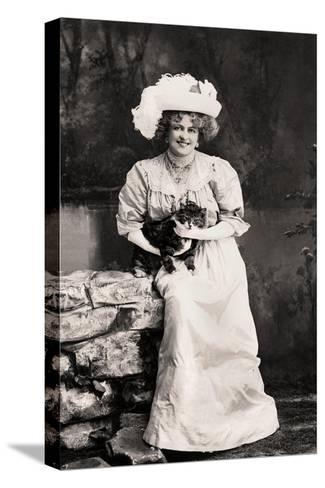 Marie Studholme (1875-193), English Actress, 1900s-Foulsham and Banfield-Stretched Canvas Print