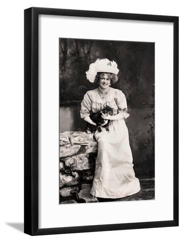 Marie Studholme (1875-193), English Actress, 1900s-Foulsham and Banfield-Framed Art Print