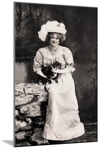 Marie Studholme (1875-193), English Actress, 1900s-Foulsham and Banfield-Mounted Giclee Print