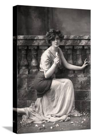 Gabrielle Ray (1883-197), English Actress, 1900s-W&d Downey-Stretched Canvas Print