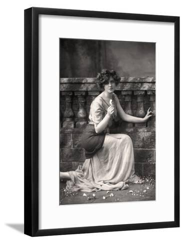 Gabrielle Ray (1883-197), English Actress, 1900s-W&d Downey-Framed Art Print