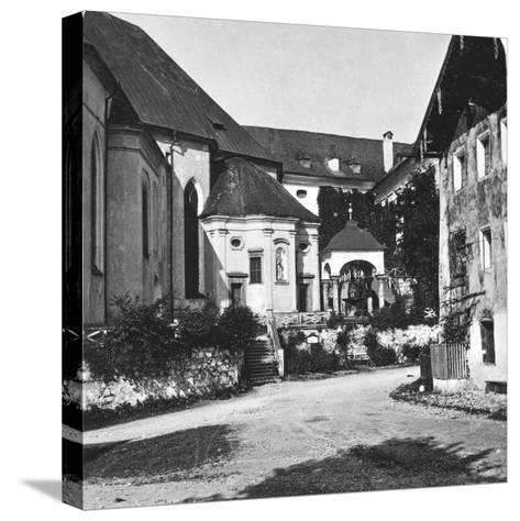 St Wolfgang, Salzkammergut, Austria, C1900s-Wurthle & Sons-Stretched Canvas Print
