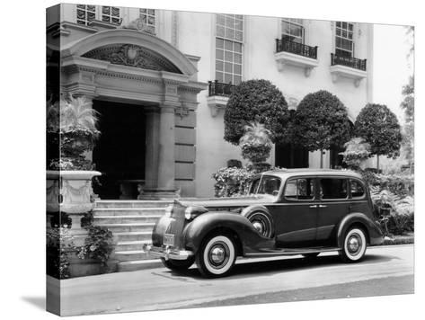 1938 Packard Super 8, (C1938)--Stretched Canvas Print