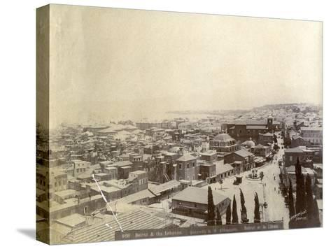 Beirut, Lebanon, Late 19th or Early 20th Century--Stretched Canvas Print