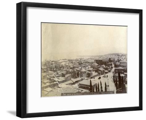 Beirut, Lebanon, Late 19th or Early 20th Century--Framed Art Print
