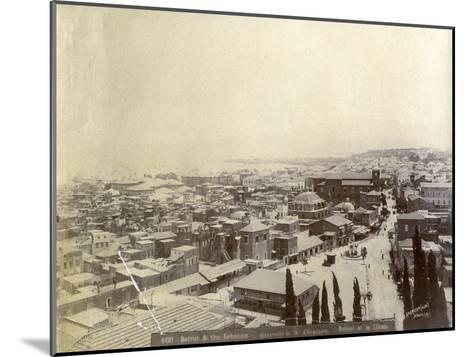 Beirut, Lebanon, Late 19th or Early 20th Century--Mounted Giclee Print