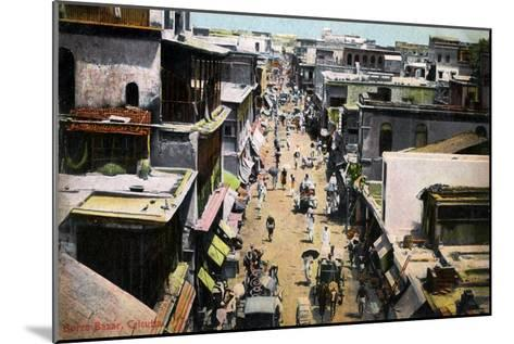Burra Bazar, Calcutta, India, Early 20th Century--Mounted Giclee Print