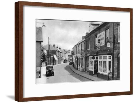 Cean Street, Braunton, Devon, Early 20th Century--Framed Art Print