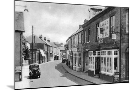 Cean Street, Braunton, Devon, Early 20th Century--Mounted Giclee Print