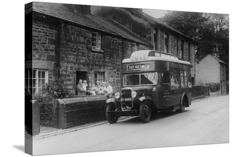 1933 Bedford 2 Ton Wlg Truck Used as a Travelling Shop, C1933--Stretched Canvas Print