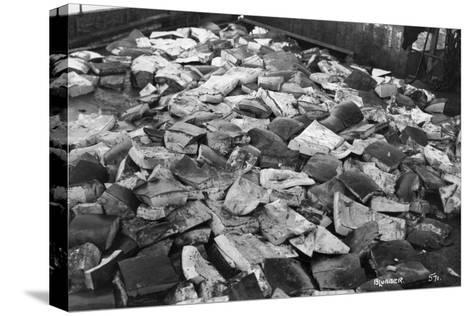 Whale Blubber, Magdalene Bay, Spitzbergen, Norway, 1929--Stretched Canvas Print