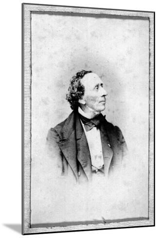 Portrait of Hans Christian Andersen (1805-187)--Mounted Giclee Print