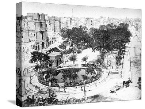The Grand Square after the Fire, Alexandria, Egypt, C1910S--Stretched Canvas Print