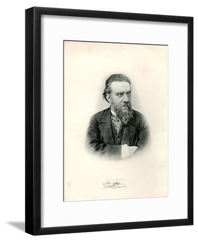 Portrait of Astronomer Hugo Gylden (1841-189), 1903--Framed Art Print