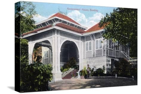 Government House, Bombay, India, Early 20th Century--Stretched Canvas Print