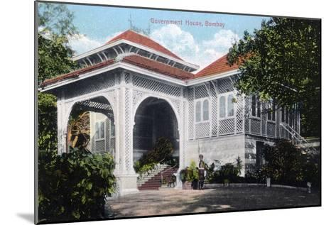 Government House, Bombay, India, Early 20th Century--Mounted Giclee Print