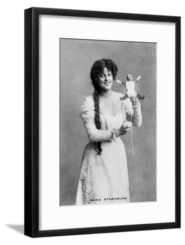 Marie Studholme (1875-193), English Actress, 20th Century- Kilpatrick-Framed Art Print