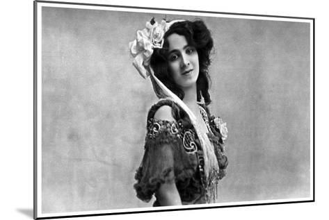Daisy Jerome, Music Hall Actress, C1890-1919--Mounted Giclee Print