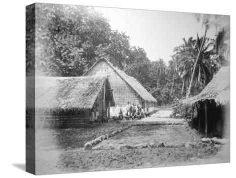 Mission, Ureparapara, Torba Province, Vanuatu, 1885--Stretched Canvas Print