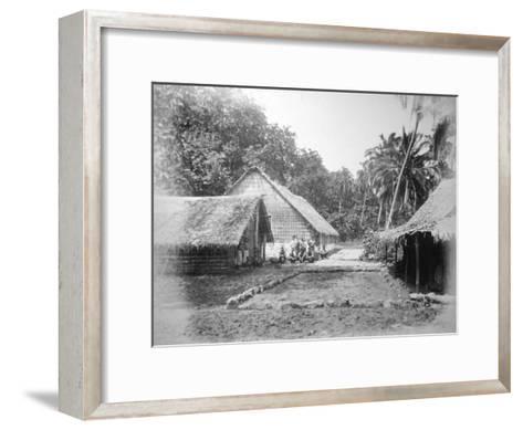 Mission, Ureparapara, Torba Province, Vanuatu, 1885--Framed Art Print