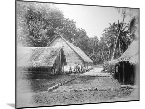 Mission, Ureparapara, Torba Province, Vanuatu, 1885--Mounted Giclee Print