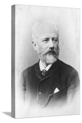 Peter Ilich Tchaikovsky, (1840-189), Russian Composer--Stretched Canvas Print
