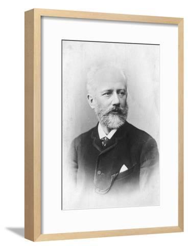 Peter Ilich Tchaikovsky, (1840-189), Russian Composer--Framed Art Print