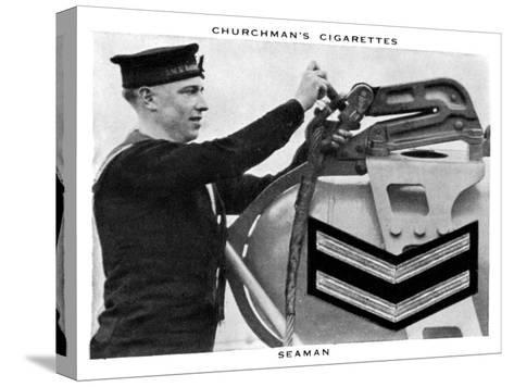 Seaman, 1937- WA & AC Churchman-Stretched Canvas Print