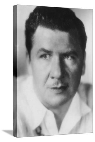 George Bancroft (1882-195), American Actor, 20th Century--Stretched Canvas Print