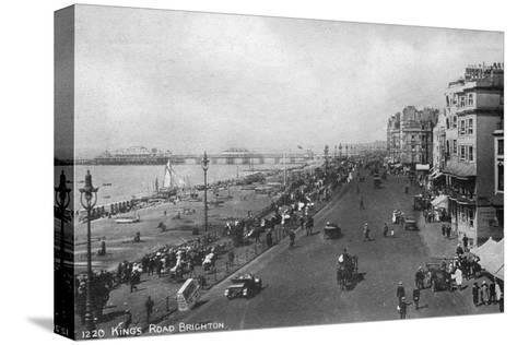 King's Road, Brighton, East Sussex, Early 20th Century--Stretched Canvas Print