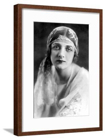 Gladys Cooper (1888-197), English Actress, 1900s-Bertram Park-Framed Art Print
