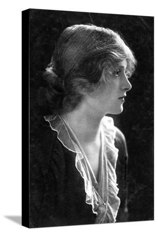 Gladys Cooper (1888-197), English Actress, 1900s- Faulkner & Co.-Stretched Canvas Print