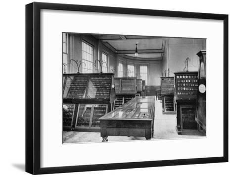 The Museum, the Royal Mint, Tower Hill, London, Early 20th Century--Framed Art Print