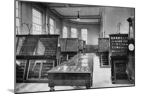 The Museum, the Royal Mint, Tower Hill, London, Early 20th Century--Mounted Giclee Print