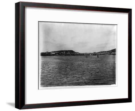 Vladivostok - Panoramic View from Harbor-William Henry Jackson-Framed Art Print