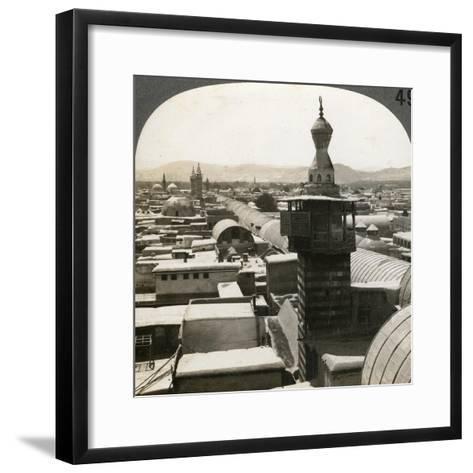 Damascus, Syria, 1900s--Framed Art Print