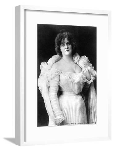 Marie Studholme (1875-193), English Actress, 1900s-W&d Downey-Framed Art Print