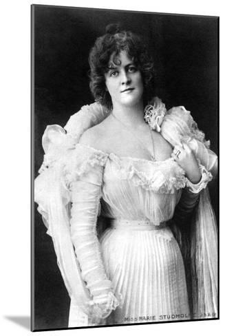 Marie Studholme (1875-193), English Actress, 1900s-W&d Downey-Mounted Giclee Print